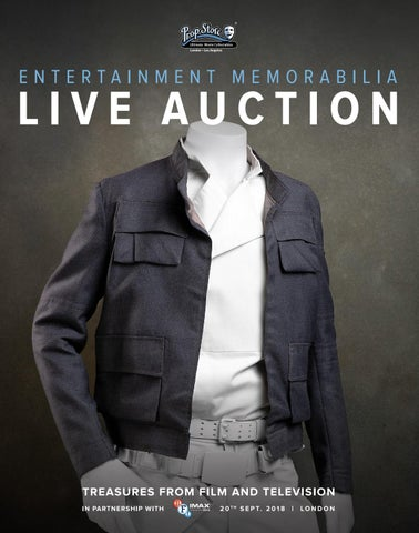Prop Store's Entertainment Memorabilia Live Auction 2018 by