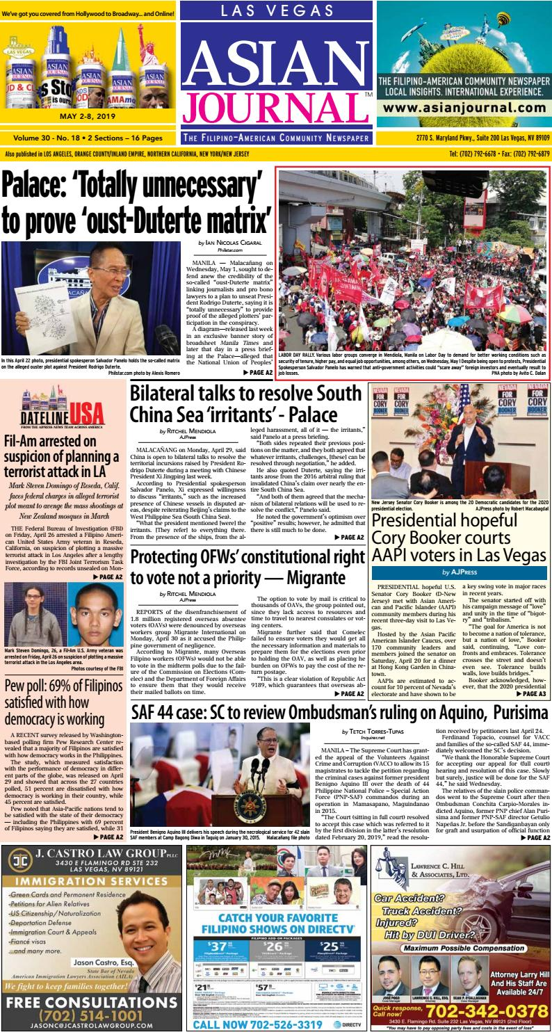 050219 - Las Vegas Edition by Asian Journal Community