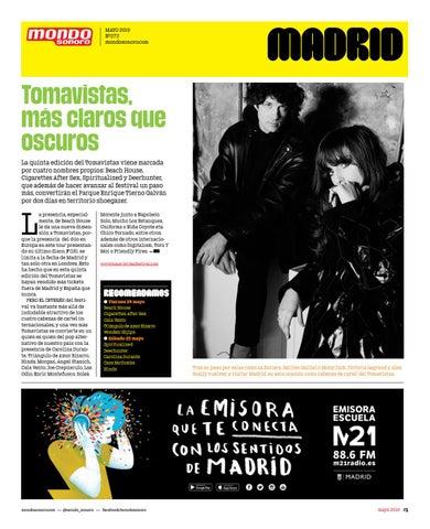 Mondosonoro Edición Madrid Mayo 2019 By Mondo Sonoro Issuu