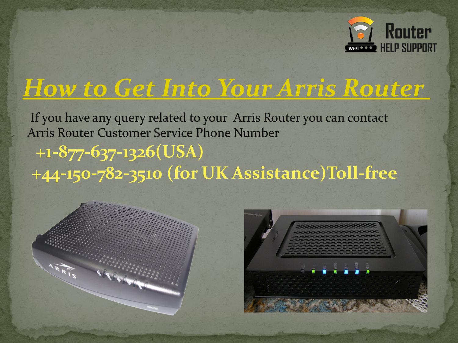 How to Get Into Your Arris Router? by alvaro1997 - issuu