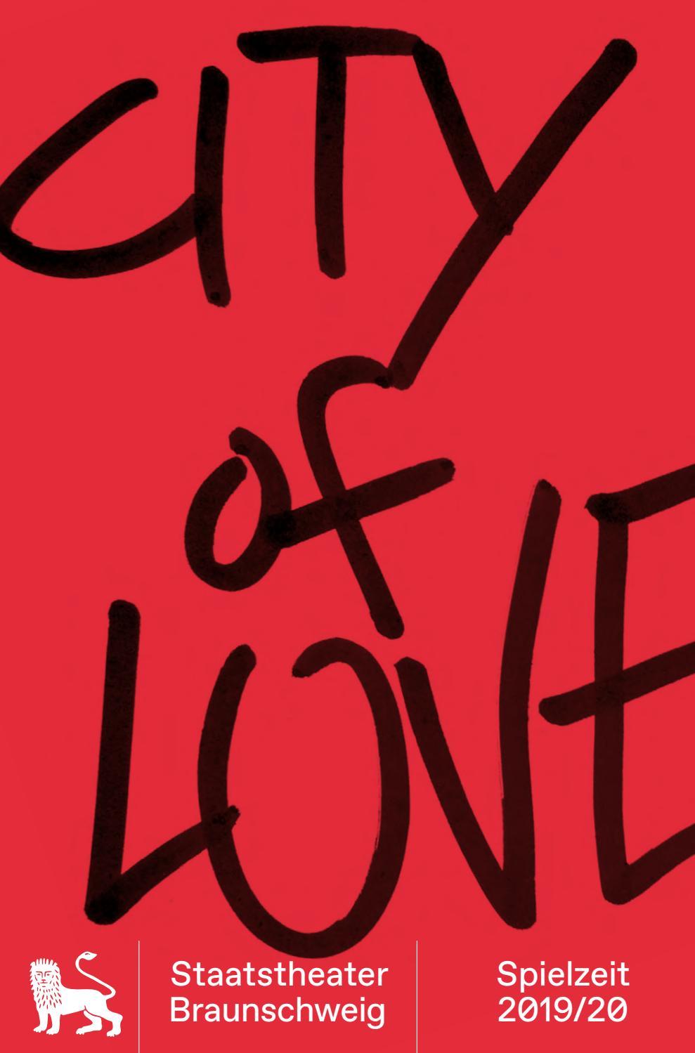 City Of Love Spielzeitheft 2019 20 By Staatstheater