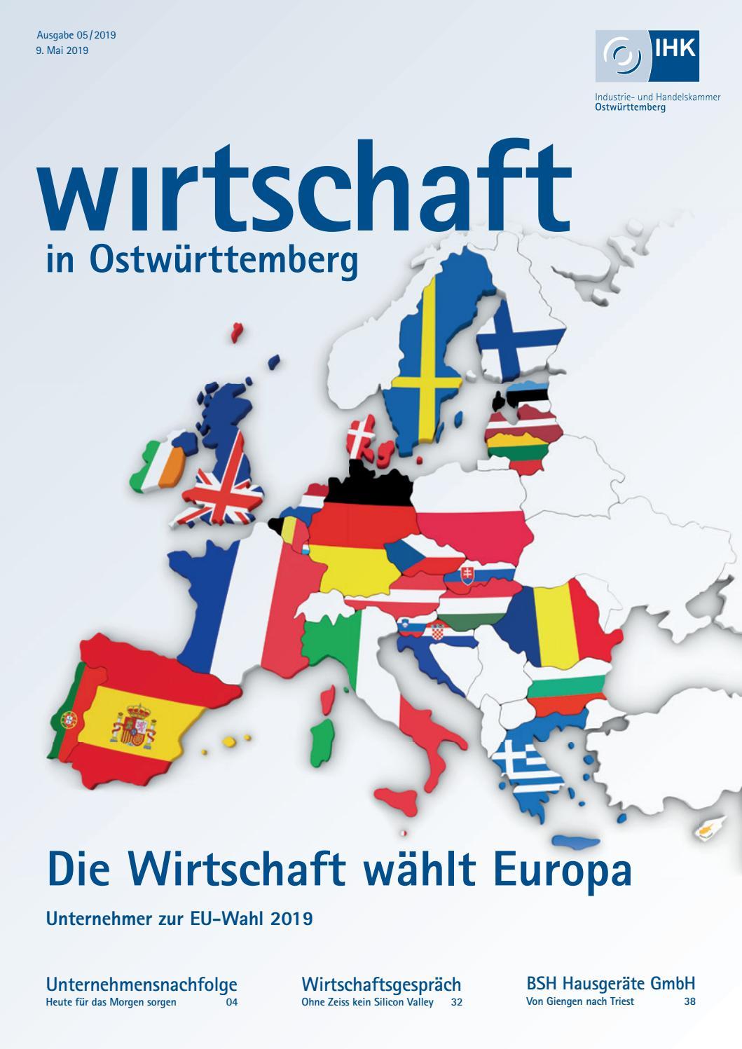 Wirtschaft in Ostwürttemberg Mai 2019 by Medienwerkstatt