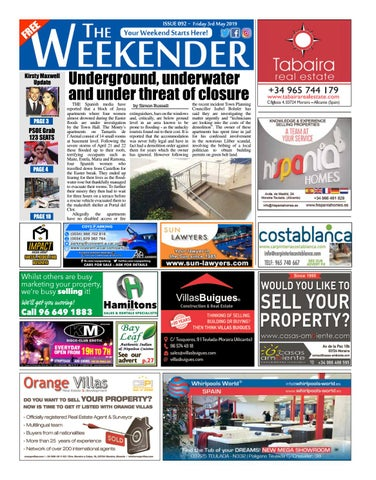 Weekender Alicante North Issue 092 By Impact Group Issuu