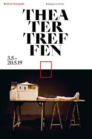 Theatertreffen 2019 Magazin By Berliner Festspiele Issuu