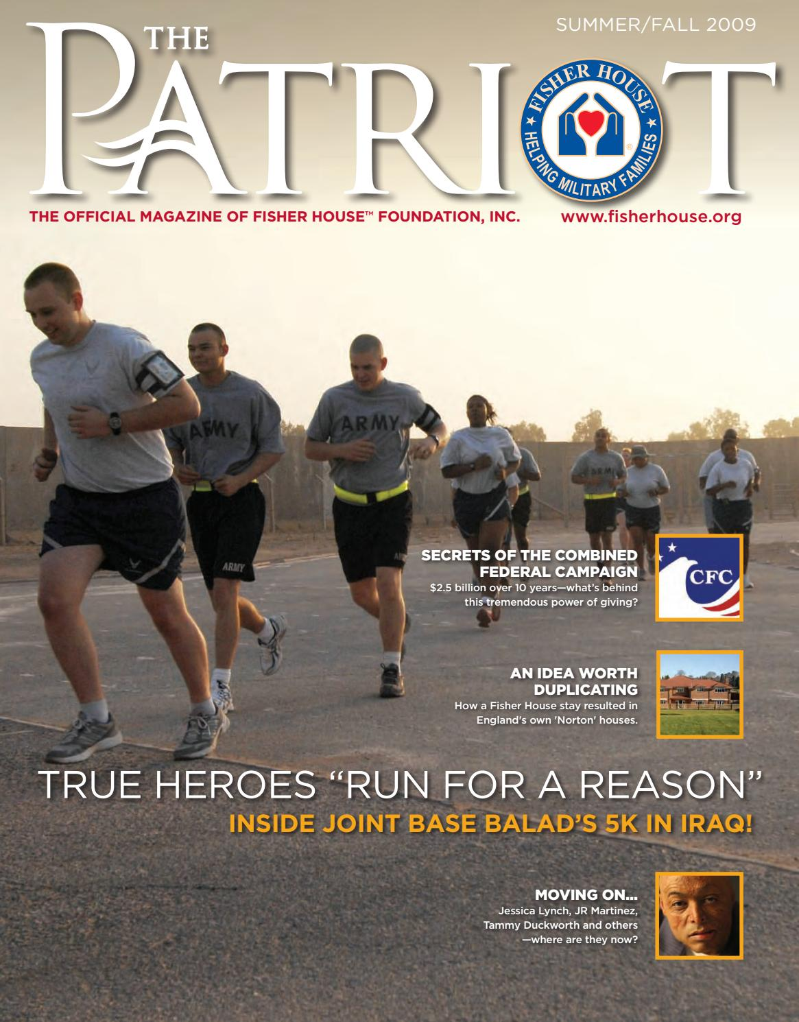 The Patriot Magazine 2009 Issue 2 by Fisher House Foundation