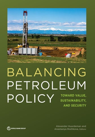 Balancing Petroleum Policy by World Bank Group Publications - issuu