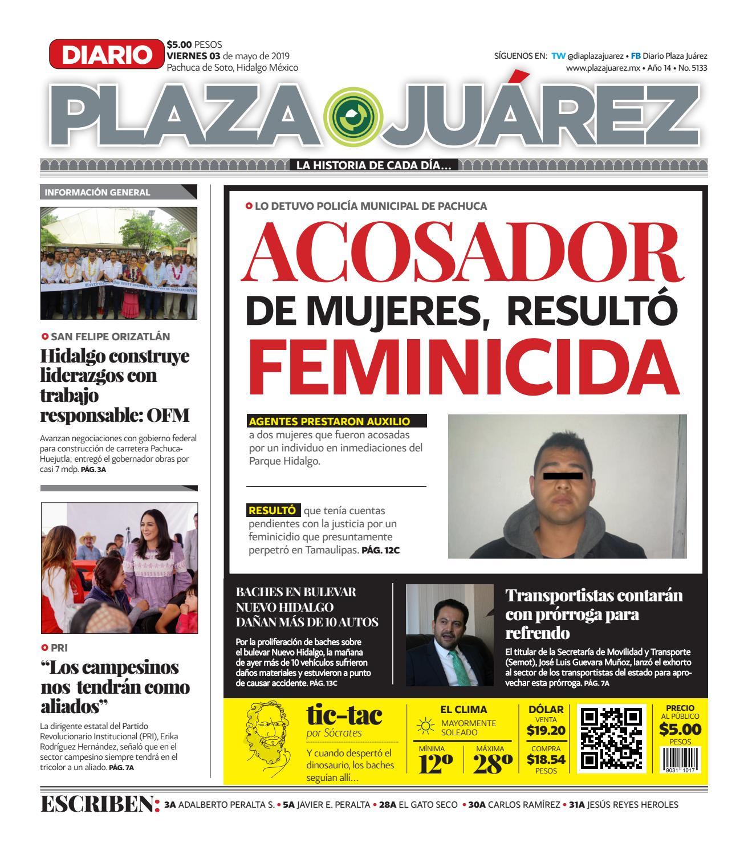 03-05-19 by Diario Plaza Juárez - issuu