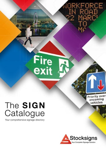 Stocksigns Catalogue Edition 17 by stocksigns4 - issuu