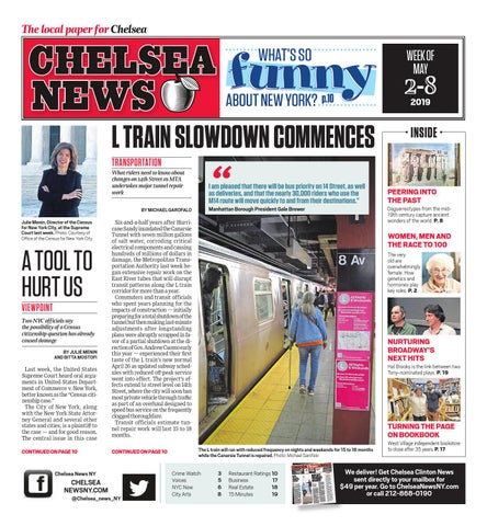 Chelsea News - May 2, 2019 by Chelsea News NY - issuu