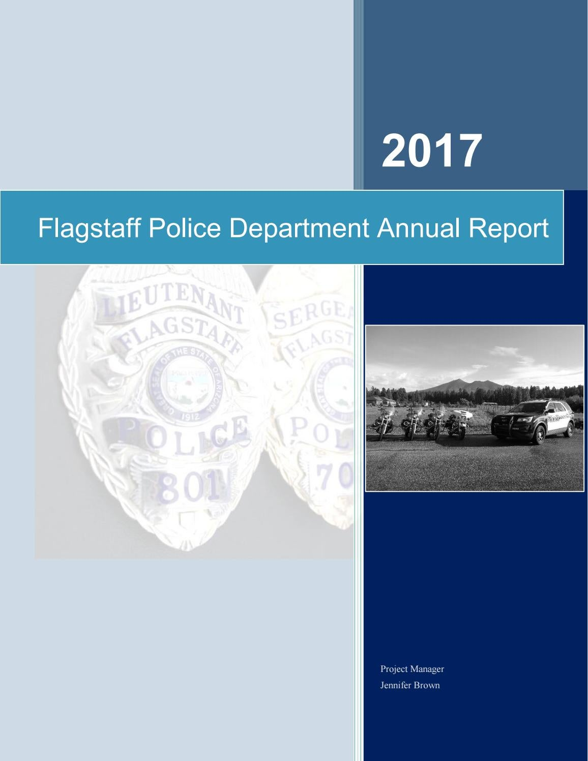 2017 Flagstaff Police Department Annual Report Revised by