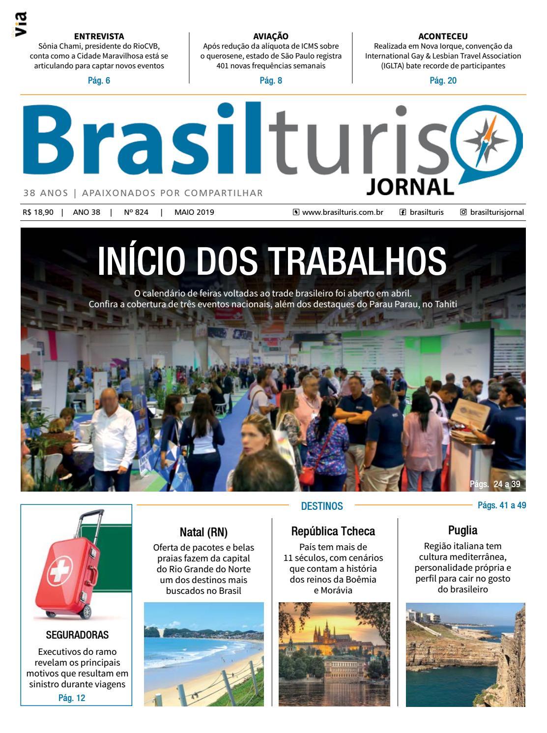 774752bde847 Brasilturis Ed. 824 - Maio by Editora Via - issuu