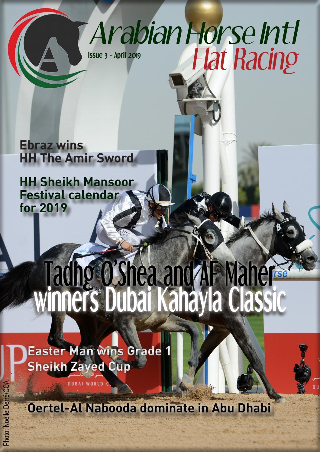 Arabian Horse Intl Flat Racing Issue 3 By Arabianhorseintl Issuu