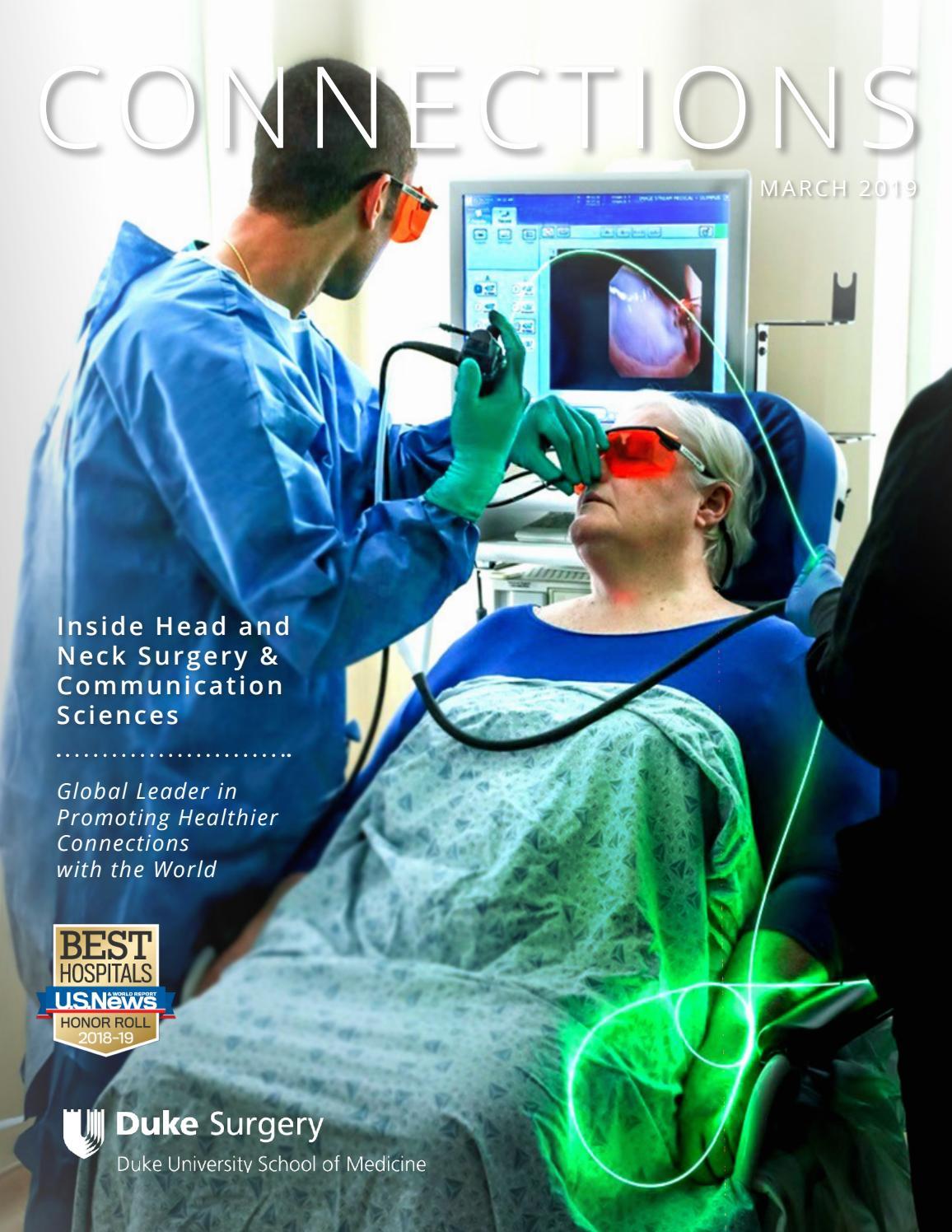 Duke Head and Neck Surgery & Communication Sciences - 2019