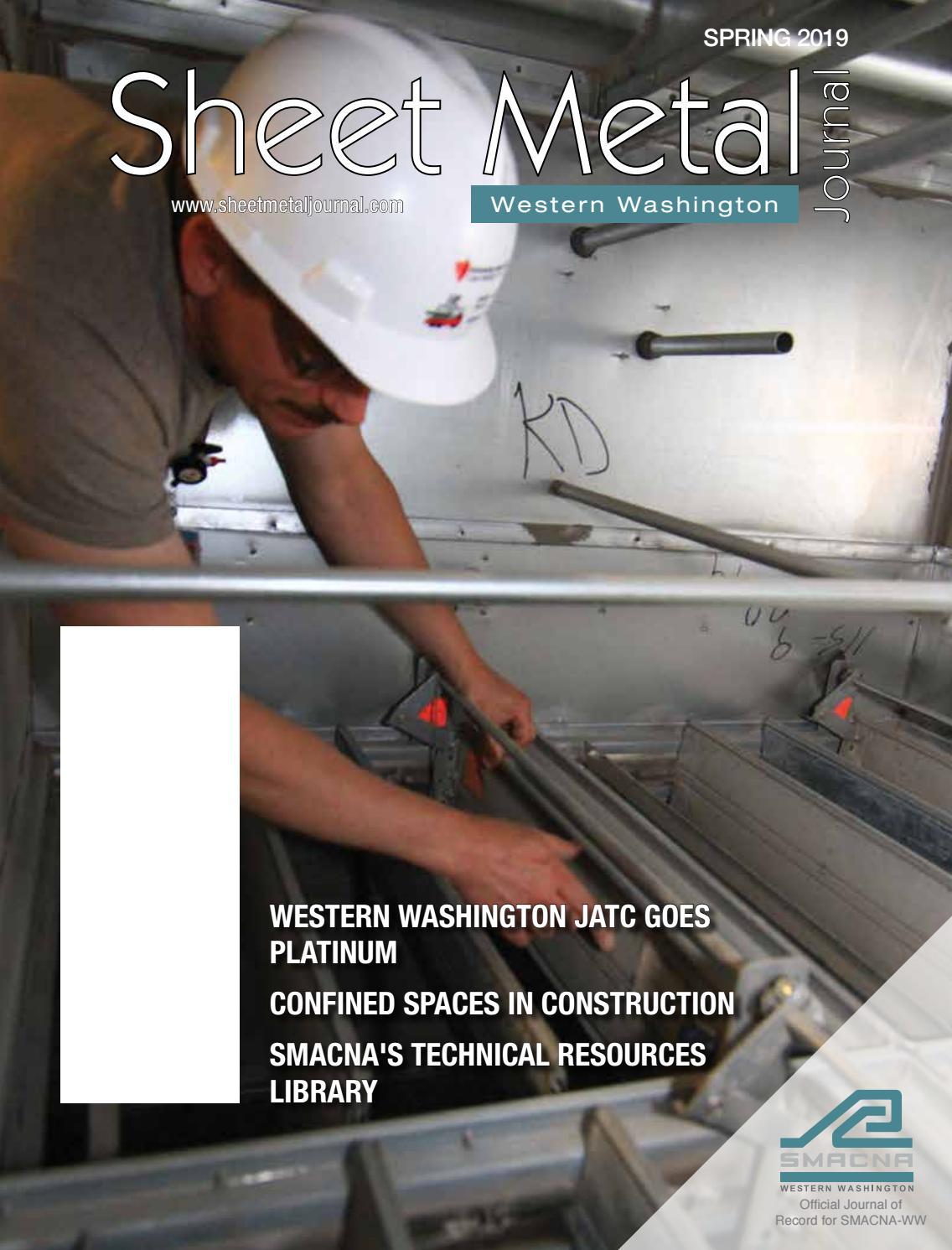 Sheet Metal Journal - Western Washington, Spring 2019 by