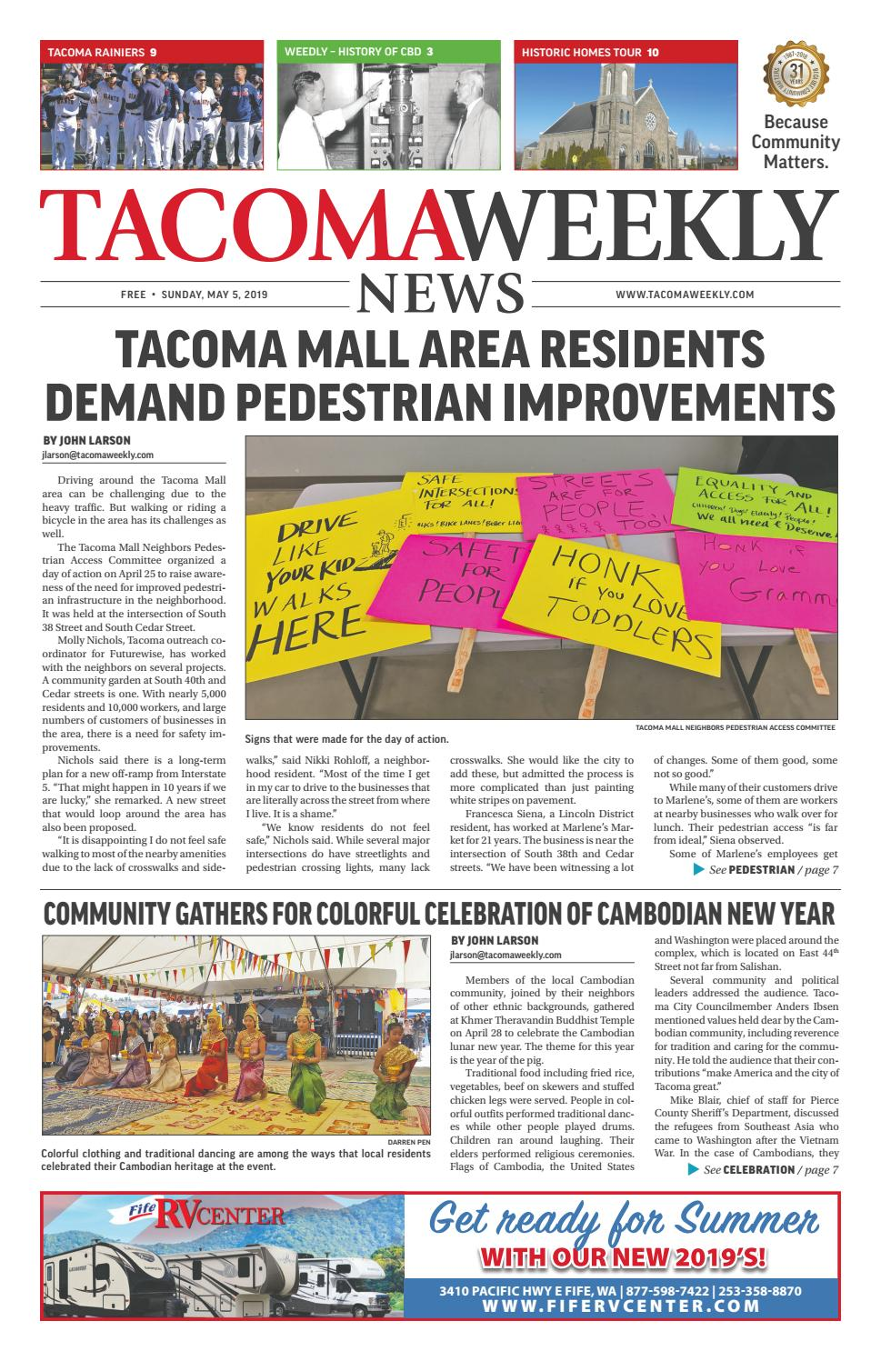 Tacoma Weekly 05 05 19 by Tacoma Weekly News - issuu