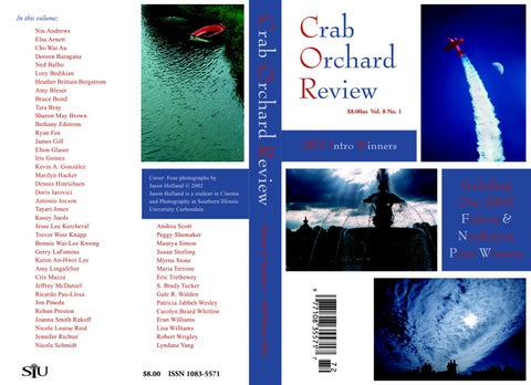 b2aee9713c32 Crab Orchard Review Vol 8 No 1 F/W 2002 by Crab Orchard Review - issuu
