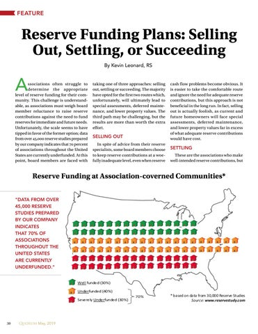 Page 30 of Reserve Funding Plans: Selling Out, Settling, or Succeeding By Kevin Leonard, RS