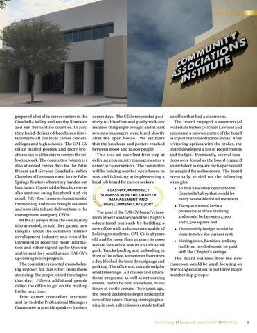 Page 9 of CAI-CV Wins Seven National Awards