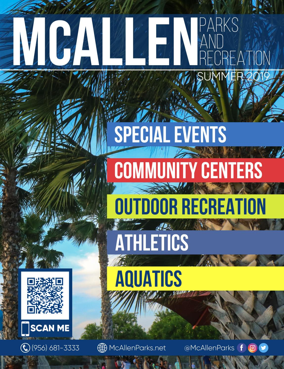 8641cf34e4 2019 Summer Activity Guide by McAllen Parks and Recreation - issuu