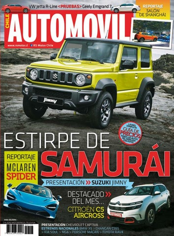 b9e1701ab494 Revista Automóvil Panamericano Edición Chilena Nº113 (Abril 2019) by ...