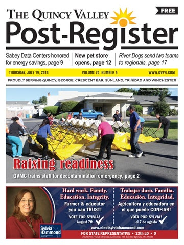 The Quincy Valley Post Register July 19 2018 By Quincy Valley Post