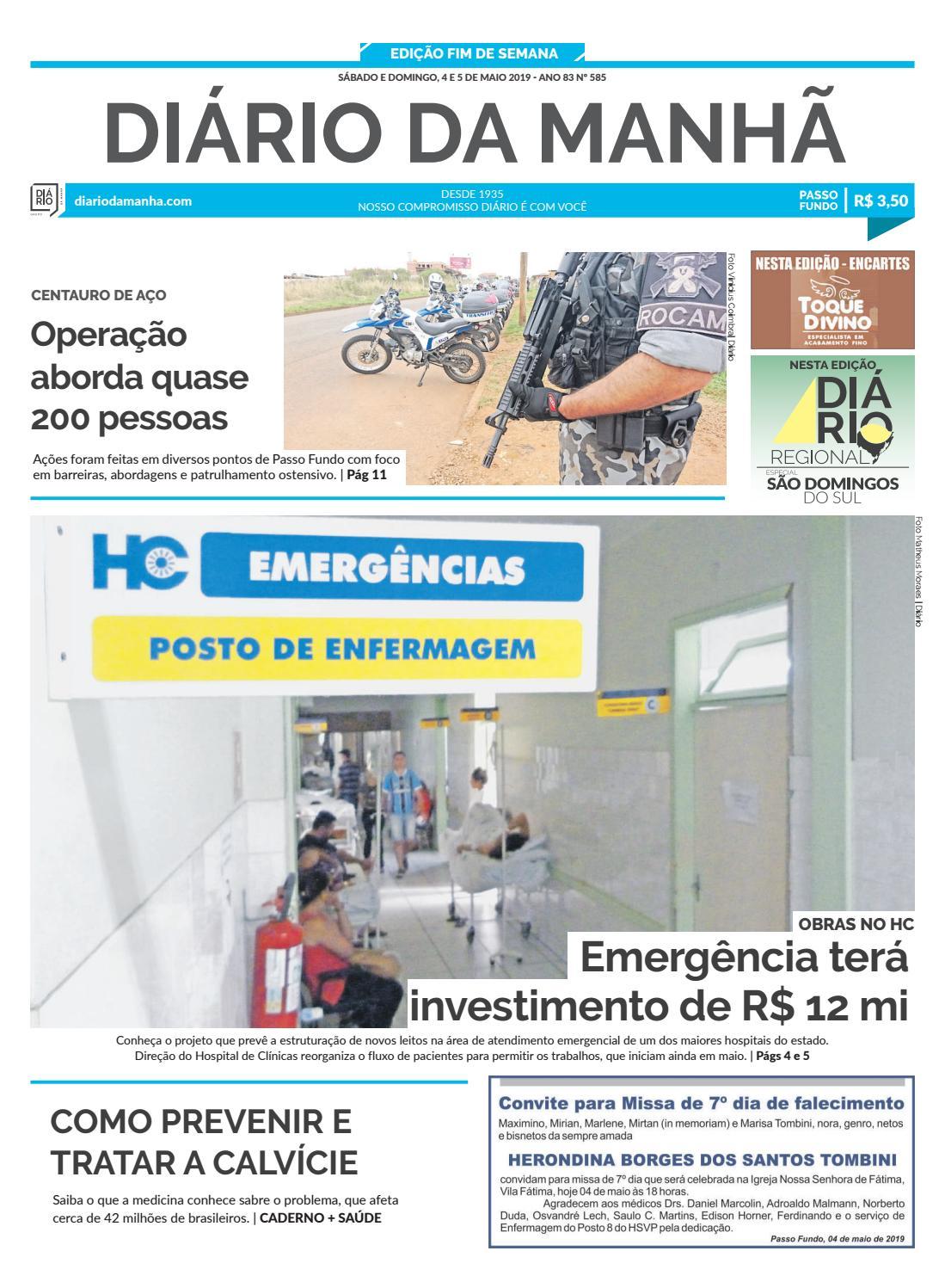 e6b1ad546 Passo Fundo by Diario da Manha - issuu