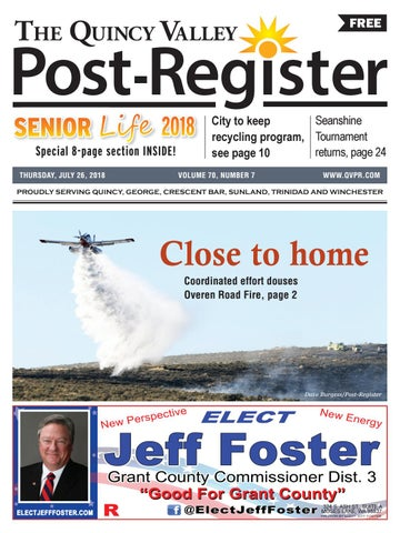 The Quincy Valley Post Register July 26 2018 By Quincy Valley Post