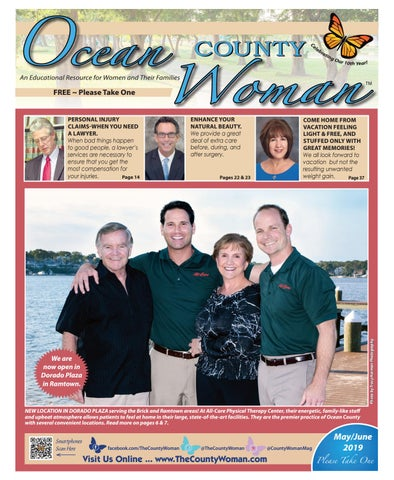 Ocean County Woman - May/June 2019 by The County Woman - issuu