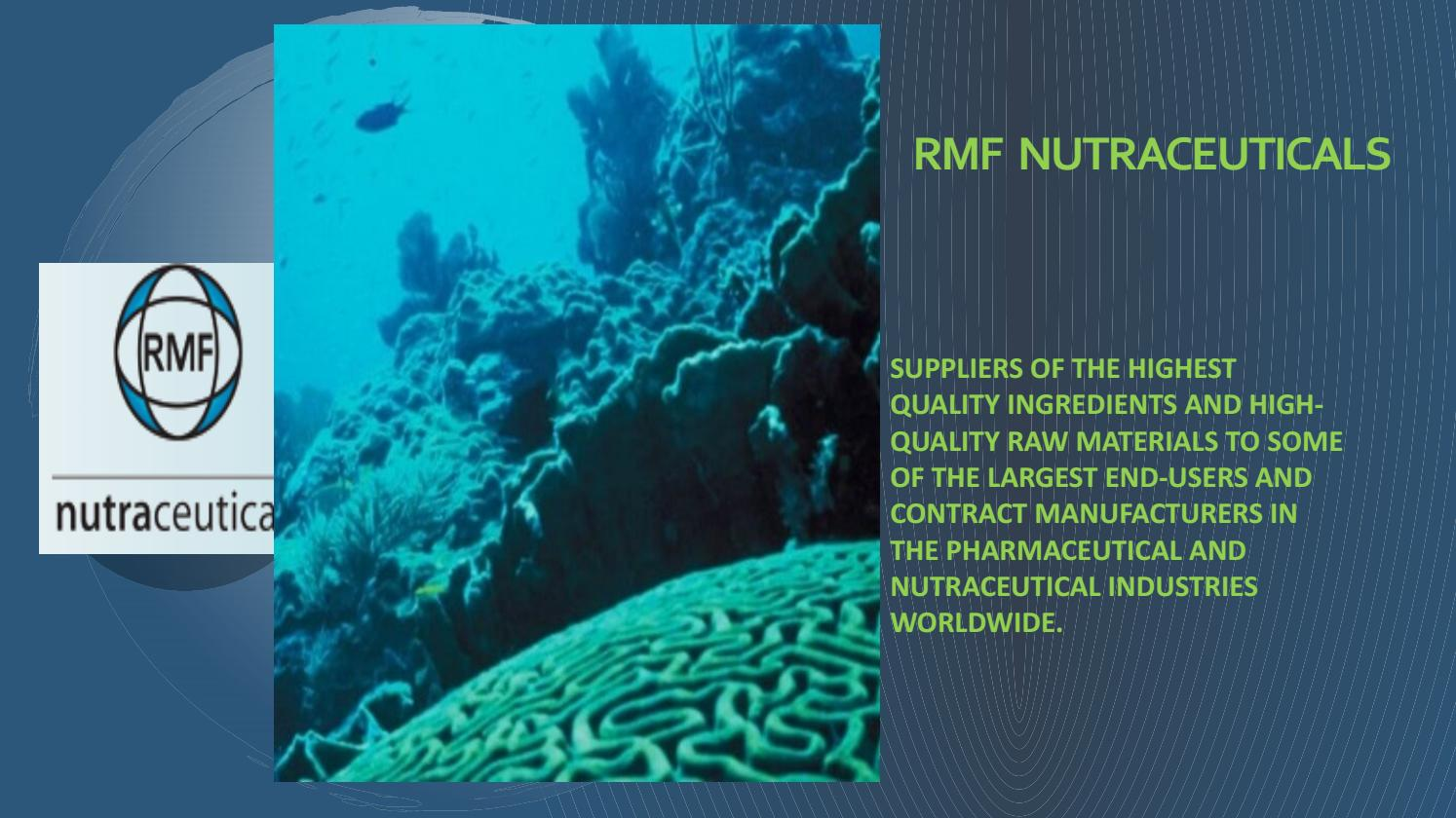 Pharmaceutical & Nutraceutical Raw Materials Christchurch by