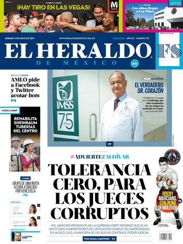 5aaa15877f7a Sábado 4 de mayo de 2019 by El Heraldo de México - issuu