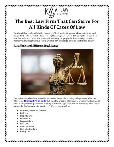 Best law firm in Delhi! Call- 9870270979
