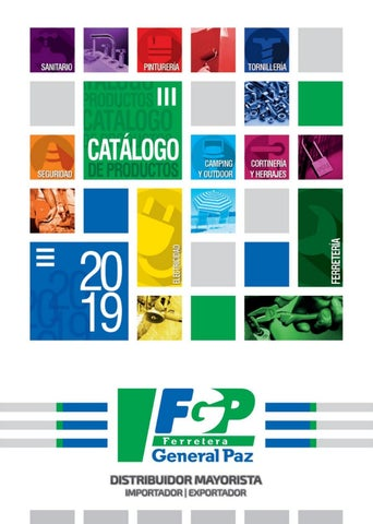 e4283dcf6 CATÁLOGO GENERAL 2019 by Ferretera General Paz - issuu