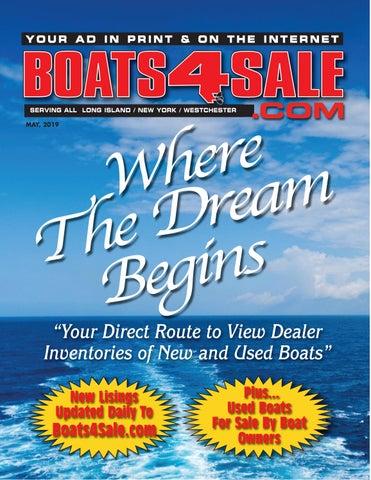 Boats 4 Sale Magazine May 2019 by Boats4Sale com Media - issuu