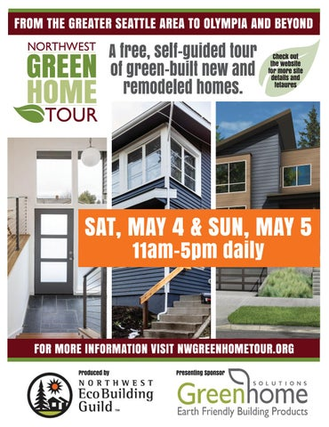 2019 Nw Green Home Tour Seattle Site Brochure By Jill Benner