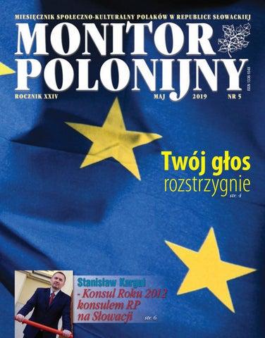 Monitor Polonijny 201905 By Monitor Polonijny Issuu