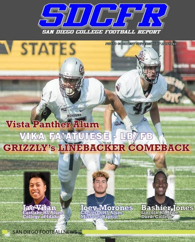 San Diego College Football Report (SDCFR) by SDFNL Magazine - issuu