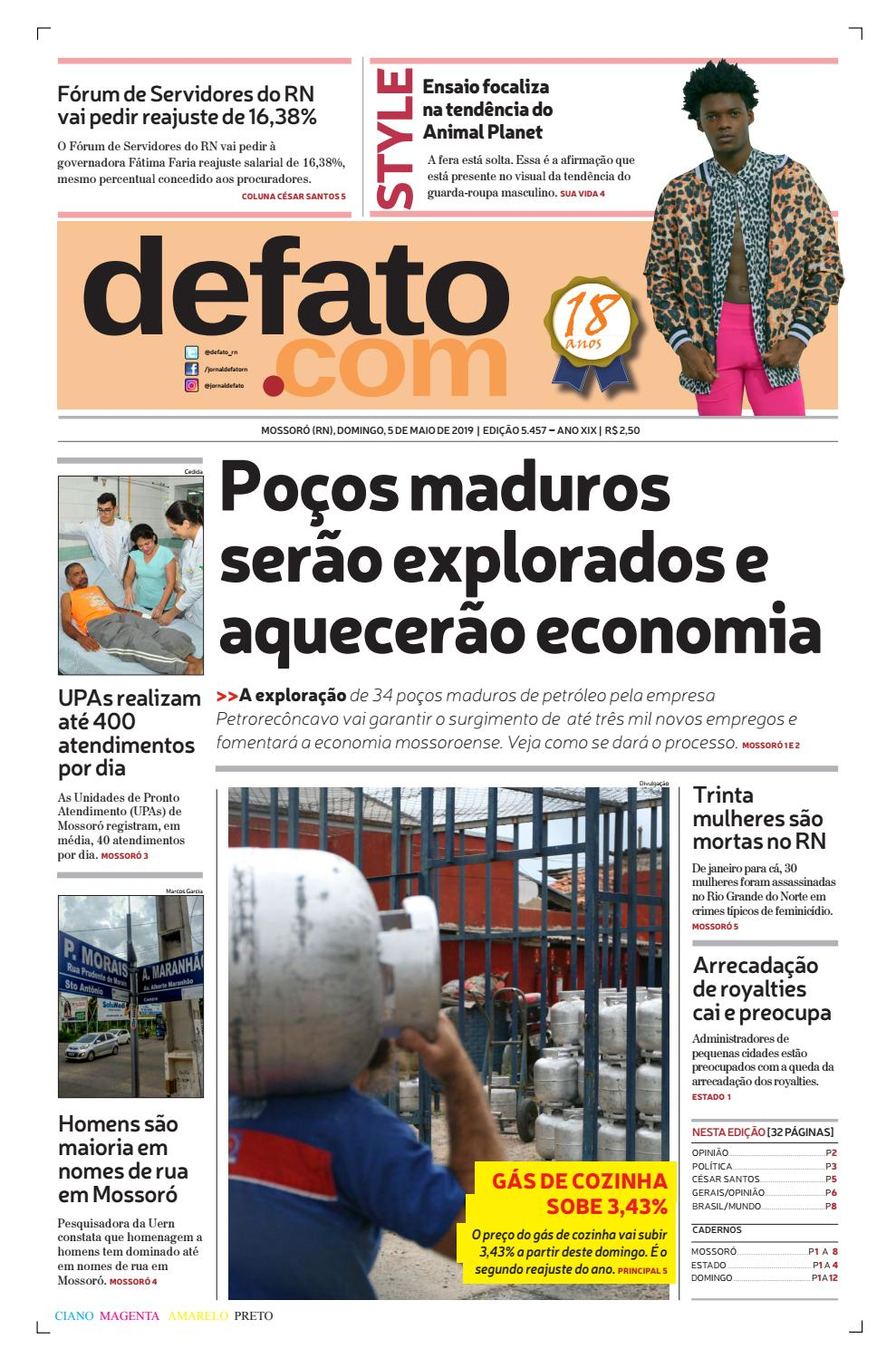 b338f64ed8 Jornal de Fato by Jornal de Fato - issuu