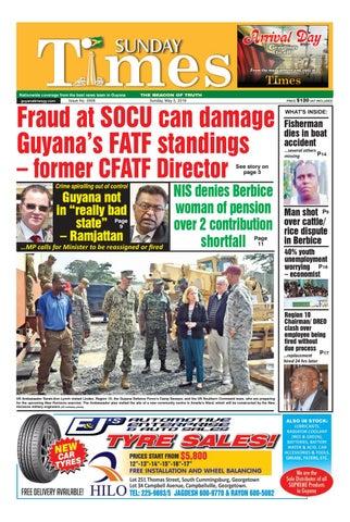 Guyana Times - Sunday May 5, 2019 by Gytimes - issuu