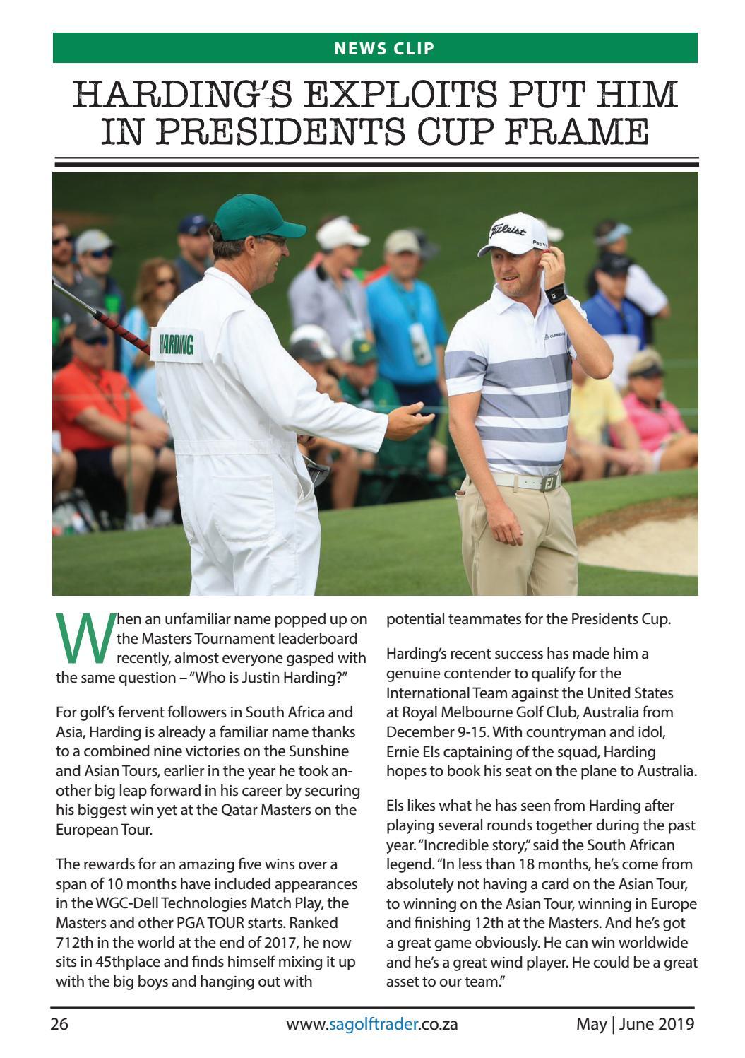 SA Golf Trader - May | June 2019 by SA Golf Trader - issuu