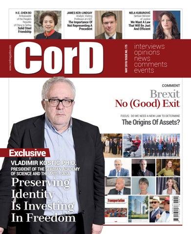 1e790d0c2eca17 CorD Magazine, May 2019, issue no. 175 by CorD Magazine - issuu