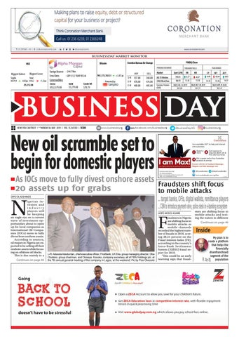 BusinessDay 06 May 2019 by BusinessDay - issuu