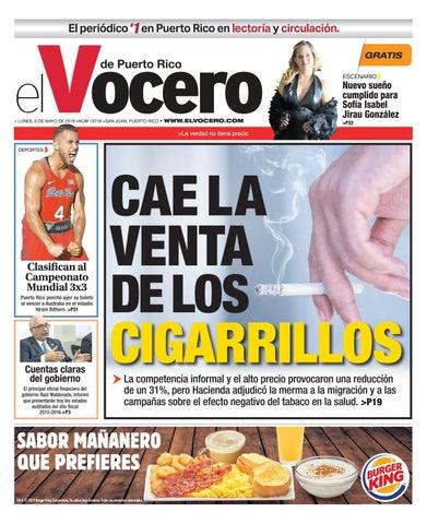 6a794cd566 Edición del 6 de mayo de 2019 by El Vocero de Puerto Rico - issuu