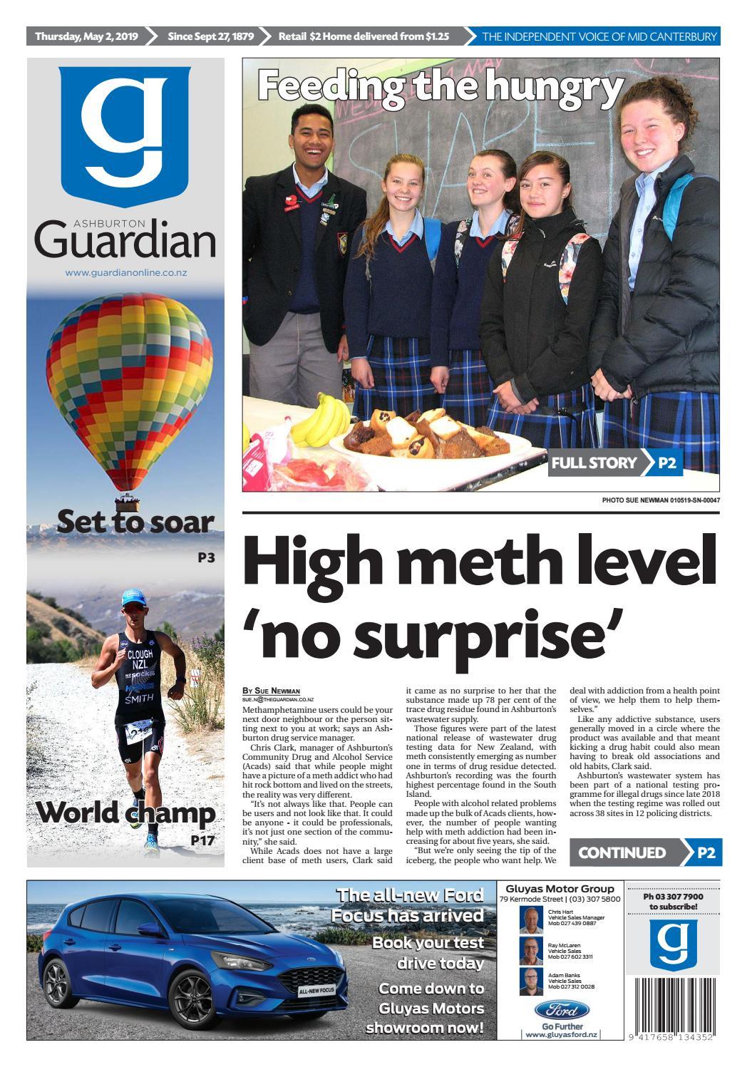 Ashburton Guardian Thursday May 2 2019 By Ashburton