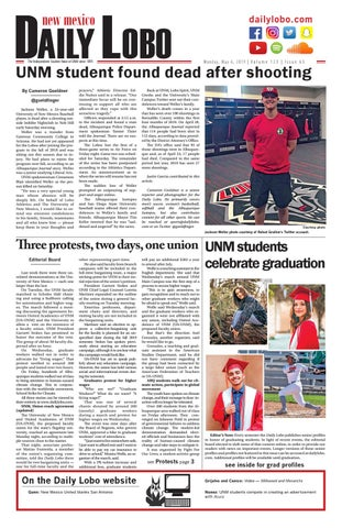 Daily Lobo 05/06/19 by UNM Student Publications - issuu
