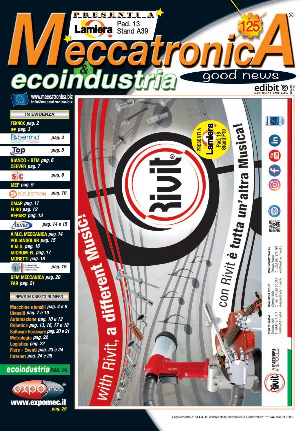 Automazione E Sicurezza Gorgonzola meccatronica 125 by arianna ceccaroni - issuu