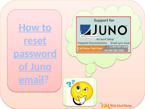 How to reset password of Juno email? by Jack smith - issuu