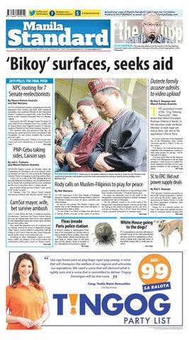 Manila Standard - 2019 May 7 - Tuesday by Manila Standard