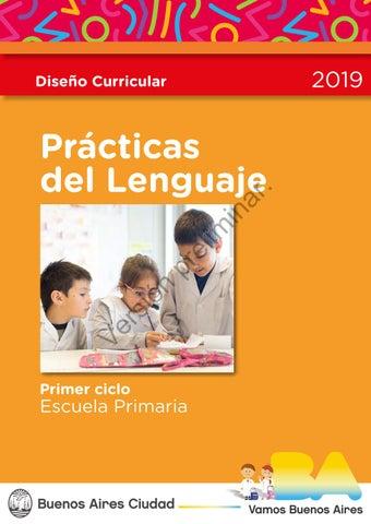 Diseño Curricular Prácticas Del Lenguaje Primer Ciclo By