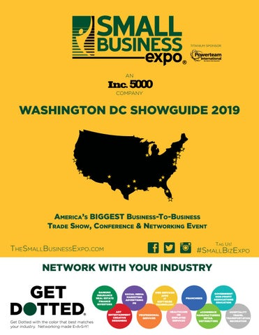 Washington DC Showguide 2019 by Small Business Expo - issuu