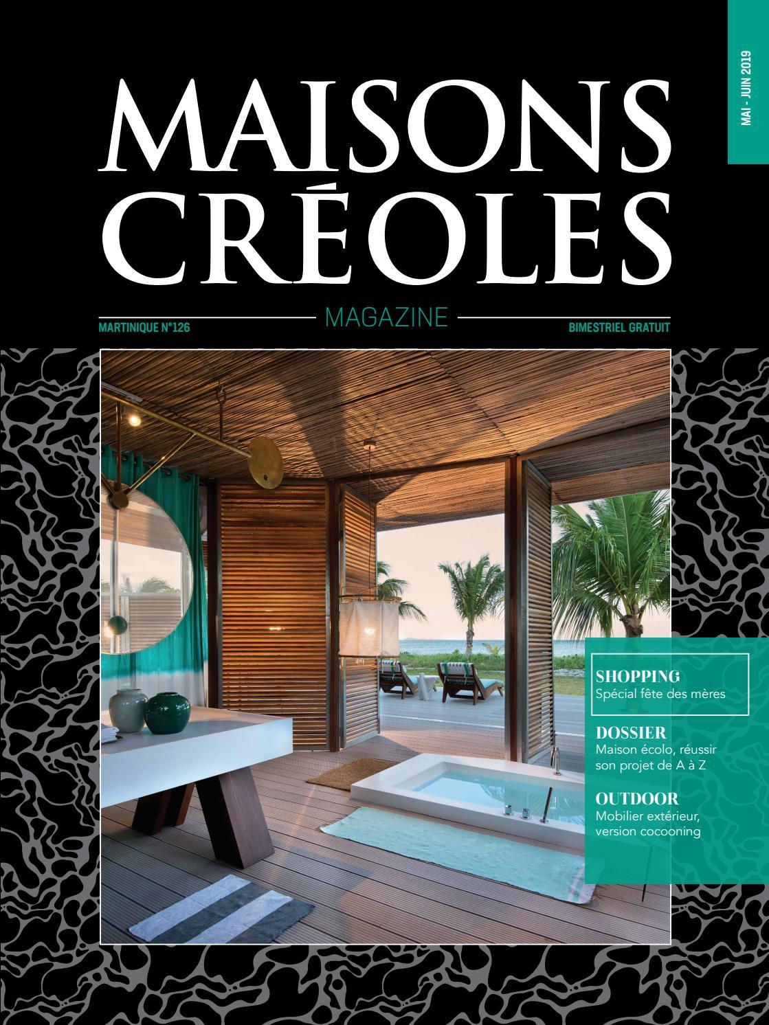 Meubles En Carton Pour Home Staging magazine maisons créoles n°126 martiniquemagazine